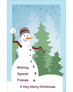 Special Friends  Snowman Christmas
