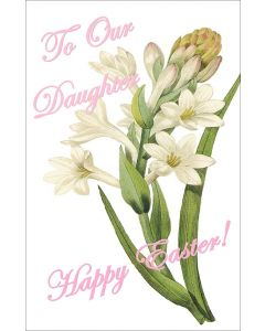 Happy Easter to Our Daughter
