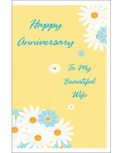 Anniversary to Beautiful Wife