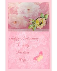 Anniversary – To Precious Wife