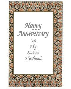 Anniversary, to My Sweet Husband