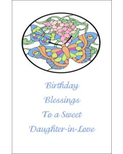 Birthday Card for Daughter-In-Love