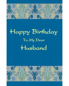 Birthday to Dear Husband
