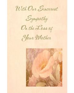 Sympathy Card for Mother