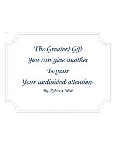 The Greatest Gift Printable