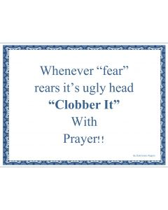 Whenever Fear Printable