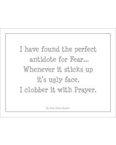 Antidote For Prayer Printable