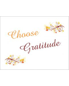 Choose Gratitude Printable