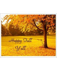 Fall scene printable