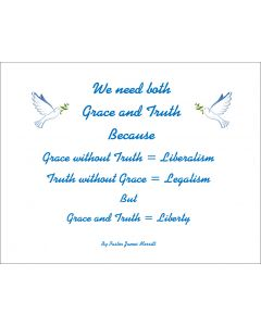 Grace and truth printable