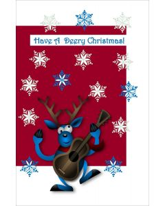 Have a Deery Christmas Grandson Card