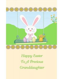 Happy Easter to a Precious Granddaughter
