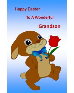 Happy Easter to a Wonderful Grandson