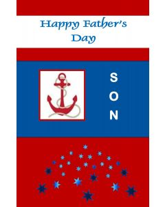 Happy Father's Day Son Nautical