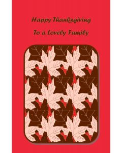 Happy Thanksgiving to a Lovely Family