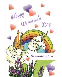 Valentine Unicorn for Granddaughter