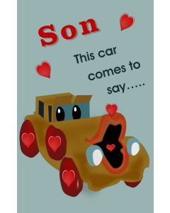 Valentine Car for Son