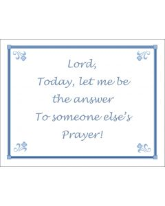 Let me be the answer printable