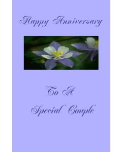 Anniversary to Special Couple