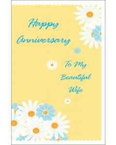 Anniversary to Beautiful Wife