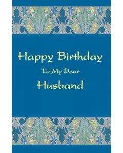 Birthday to Dear Husband
