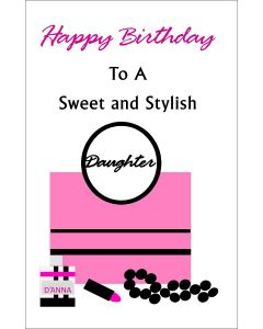 Happy Birthday to Stylish Daughter