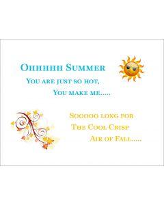 Ohhhhh Summer Printable
