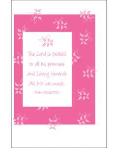 Oversized Notecard Faithful Lord
