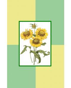 Oversized Notecard Sunflowers