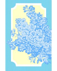 Oversized Notecard – Blue Bouquet