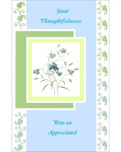 Oversized Notecard – Your Thoughfulness