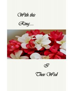 With This Ring Wedding Card